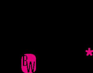 Music BW women* Logo in schwarz und pink