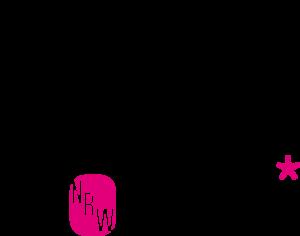 music NRW women* Logo in schwarz und pink