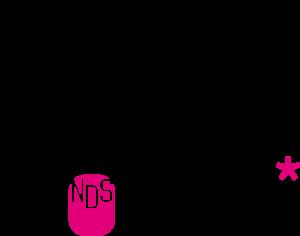 Music NDS Women* Logo in schwarz und pink