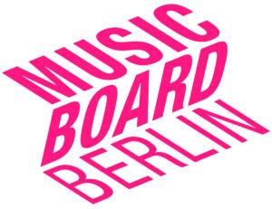 Musicboard Berlin GmbH Logo in pink